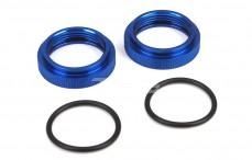 Schokdemper ring, (Ø28-H10 mm), (LOSI 5IVE-MINI WRC), (Aluminium), 2 st..