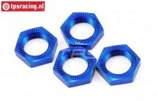 LOSB3227 Wielmoer blauw LOSI-BWS, 4 st.