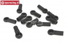 LOSB5903 Kogelhouders 11 mm, BWS-LOSI-TLR, 10 st