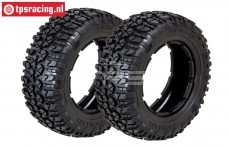LOSB7243 LOSI 5T Rally Nomad Soft Ø120-B60 mm, 2 st.