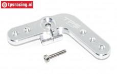 Servo hevel TPS, (15T, LOSI DBXL & MTXL Zilver), (Aluminium), 1 st