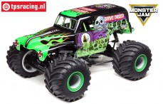 LOSI LMT 4WD Solid Axle Monster Truck Grave Digger