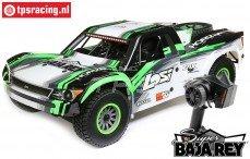 LOS05013T1 1/6 Super Baja Rey 4WD Desert Truck Brushless RTR, Zwart