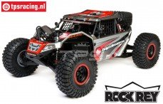 LOS05016T2 1/6 Super Rock Rey 4WD Desert Truck Brushless RTR, Grijs