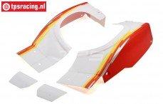 LOS250029 LOSI SB-Rey Spatborden rood, Set
