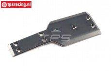 LOS351019 LOSI SB-Rey-SR-Rey Alu-Skid Plate, 1 st.