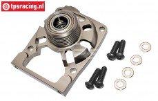 TLR352018 Aluminium Motor-Koppeling houder 5IVE-T 2.0, 1 st.
