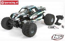 LOS05009T1, LOSI 1/5 MONSTER TRUCK XL 4WD RTR, (Zwart)