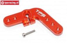 Servo hevel TPS, (15T, LOSI DBXL & MTXL Rood), (Aluminium), 1 st.
