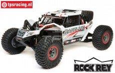 LOS05016T1 1/6 Super Rock Rey 4WD Desert Truck Brushless RTR, Wit
