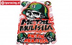TPS19/046 Stickers Metal Mulisha, 1 st.