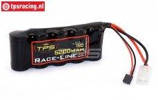 TPS5200/N Racing-Line accu 5200 mAh 6,0 Volt 10C, 1 st.