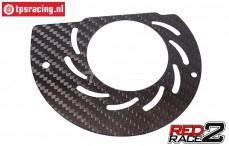 TPS1084/11 TPS® RedRace2 Air Duct achter-T, 1 st.
