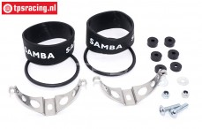 Samba 7110, montage kit Ø50 mm, Set