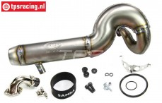 SAM8300 Samba 8 Titanium Tuning uitlaat, set