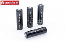 Accu, Sanyo Eneloop Pro, (2500 mAh, 1,2 Volt), 4 st.