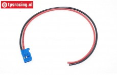 TPS0514/30 Siliconen kabel Futaba female Gold L30 cm, 1 st.