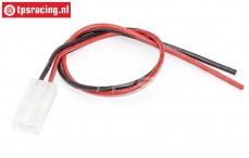 TPS0521/01 Siliconen accu kabel Gold, (Ø2,5 mm-L30 cm), 1 st.