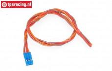 TPS0552/30 Siliconen servo kabel Gold, (Ø0,6 mm-L30 cm), 1 st.