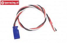 TPS0543/30 Siliconen servo verleng kabel Gold, (Ø0,6 mm-L30 cm), 1 st.