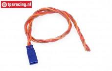 TPS0553/30 Siliconen accu kabel Gold, (Ø0,6 mm-L30 cm), 1 st.