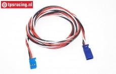 TPS0540/100 Siliconen verleng kabel Gold, (Ø0,6 mm-L100 cm), 1 st.