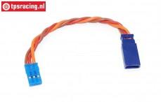 TPS0550/10 Siliconen verleng kabel Gold, (Ø0,6 mm-L10 cm), (Universeel), 1 st.