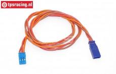 TPS0550/50 Siliconen verleng kabel Gold, (Ø0,6 mm-L50 cm), 1 st.