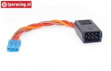 TPS0538/10 Siliconen Y-kabel Gold, (Ø0,6 mm-L10 cm), 1 st.
