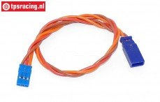 TPS0550/25 Silicone Servo/battery extension cable Gold, (Ø0,6 mm-L25 cm), 1 pc