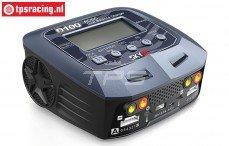 SKYRC D100 V2 lader, (12~100-220 volt), Set