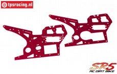 SK700002/13 SkyRC SR5 Zij panelen rood, set