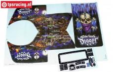 LOS240018/01 LMT Son Uva Stickers, Set