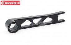 TPS5224Z Aluminium Bougie sleutel, Zwart, 1 st.