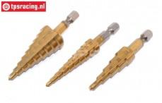 TPS0123 Stappenboor HSS-Titanium 4-32 mm, Set