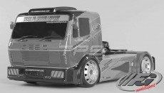FG Street Team Race Truck, Sports-Line, 4WD-530, (Transparante Kap)