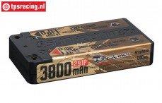 S638066 SUNPADOW 2S LiPo accu Hardcase 3800 mAh-130C, 1 st.