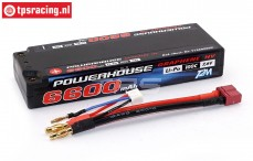 T1366002C 2S LiPo accu Powerhouse 6600 mAh 100C, 1 st.