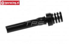 TPS0710/06 Aluminium tank ventilatie Zwart, 1 st.