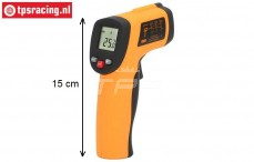 TPS0761 Thermometer Infrarood Laser Point Gun, 1 st.