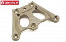 TLR351001 Aluminium Servo-saver plaat BWS-LOSI-TLR, 1 st