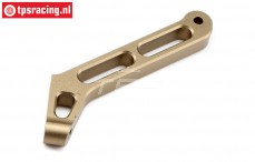 TLR351005 Chassis steun achter TLR 5B, 1 st