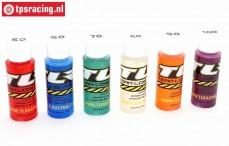 TLR74021 TLR Siliconen olie Sorti 50 ml, 6 st. Siliconen olie TLR 50 ml, Set