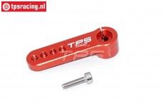 Servo hevel TPS, (15T, L39 mm, Rood), (Aluminium), 1 st.