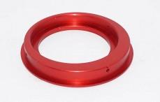 Luchtfilter adapter, (Ø66-Ø80-H12 mm), (Rood aluminium), 1 st.