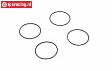 Luchtfilter venturie O-ring, (Ø24-H1 mm), (Rubber), 4 st.