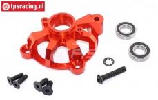 TPS5113/03 Aluminium Koppeling klok houder rood, Set