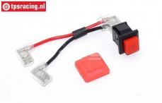 TPS7340 Motor stopknop met hoes, Set