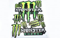Stickers TPS, (Monster Energy), 1 st.