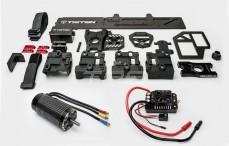 Triton 1/5 Elektro ombouw, (LOSI 5IVE & MINI WRC), Set compleet